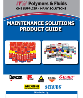 Maintenance Solutions Product Guide
