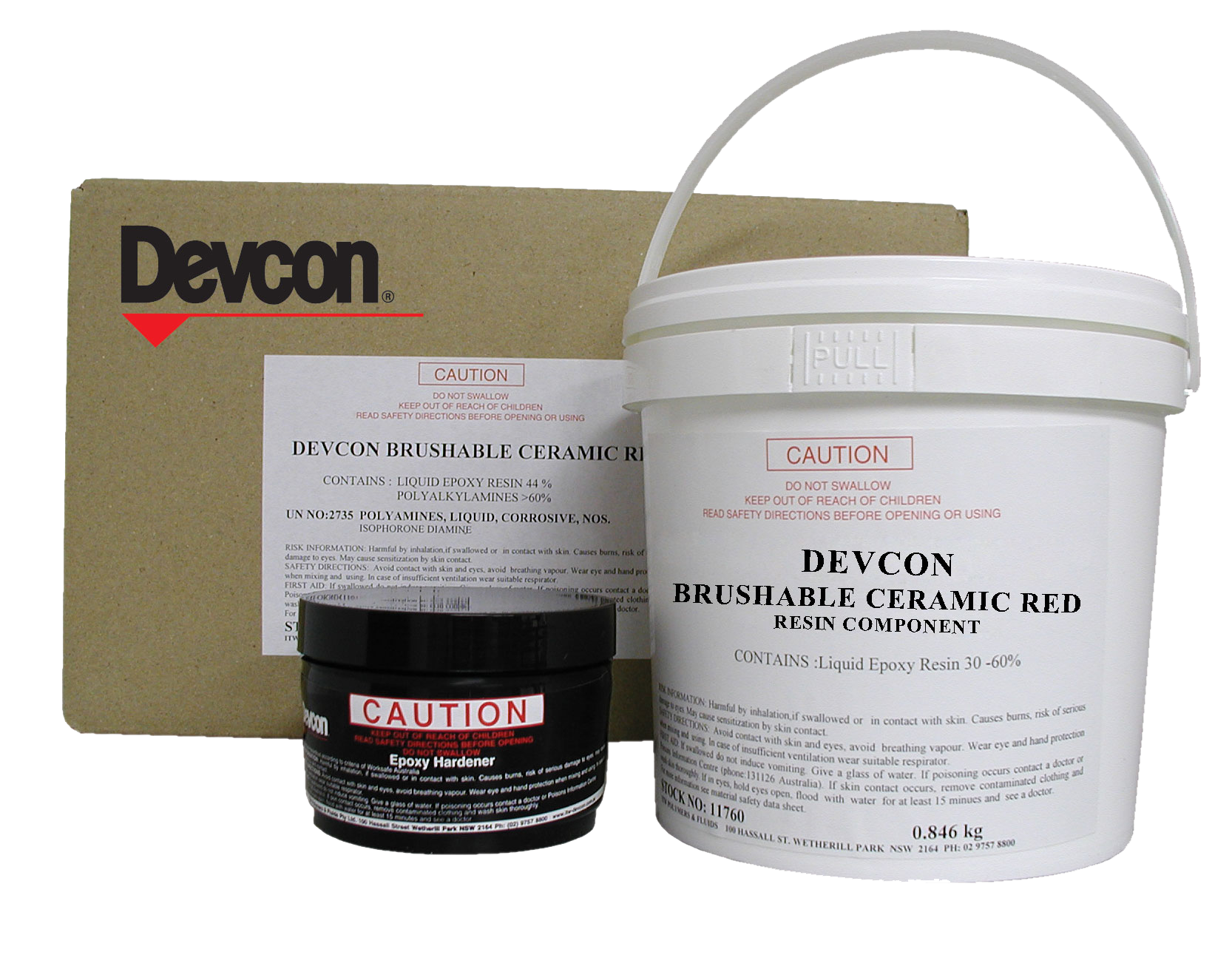 Brushable Ceramic Red