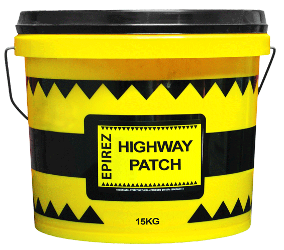 Highway Patch – A patented hydraulic rapid set cement repair mortar
