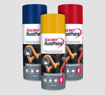 Galmet® Rust Paint