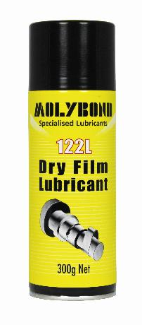 122L Dry Film Lubricant Spray – Dry film lubricating spray for assembly or pretreatment of load bearing surfaces