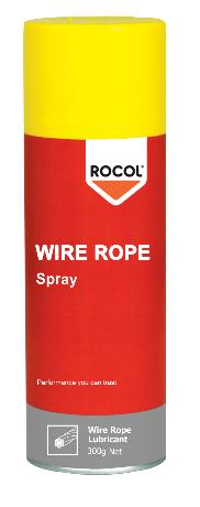 Wire Rope Spray -A semi-fluid grease with a combination of lubricating solids and molybdenum disulphide