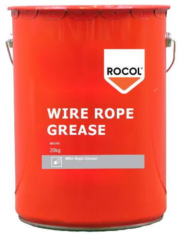 Wire Rope Grease A semi-fluid grease with a combination of lubricating solids and molybdenum disulphide