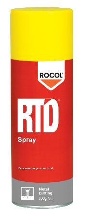 RTD Spray An aerosol applied metal cutting lubricant