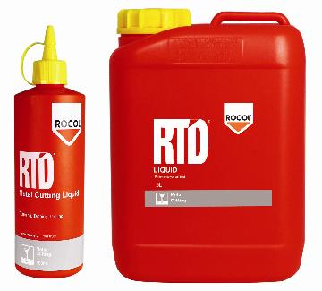 RTD Liquid A medium viscosity high performance metal cutting lubricant