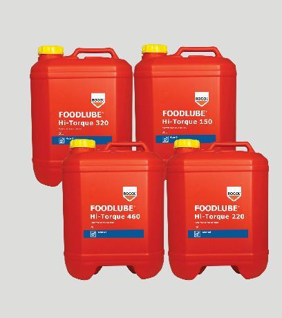 FOODLUBE Hi-Torque Gear Oils – High quality, fully synthetic, food grade gearbox fluid