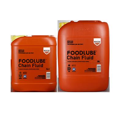 FOODLUBE Chain Fluid – Versatile, high performance, chain lubricant