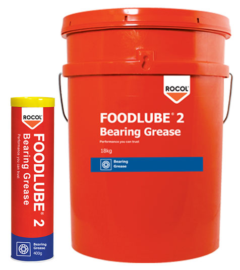 FOODLUBE Bearing Grease 2 – Food grade, general pupose grease with excellent load carrying & temperature capabilities