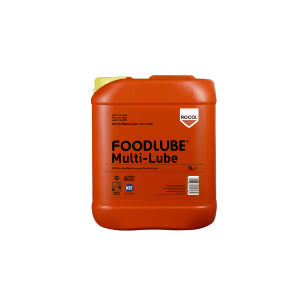 FOODLUBE Multi-Lube – Food grade, synthetic, multi-purpose lubricant for use with linkages, pins, bearings, slides & chains
