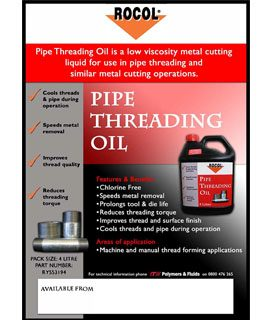 Pipe Threading Oil
