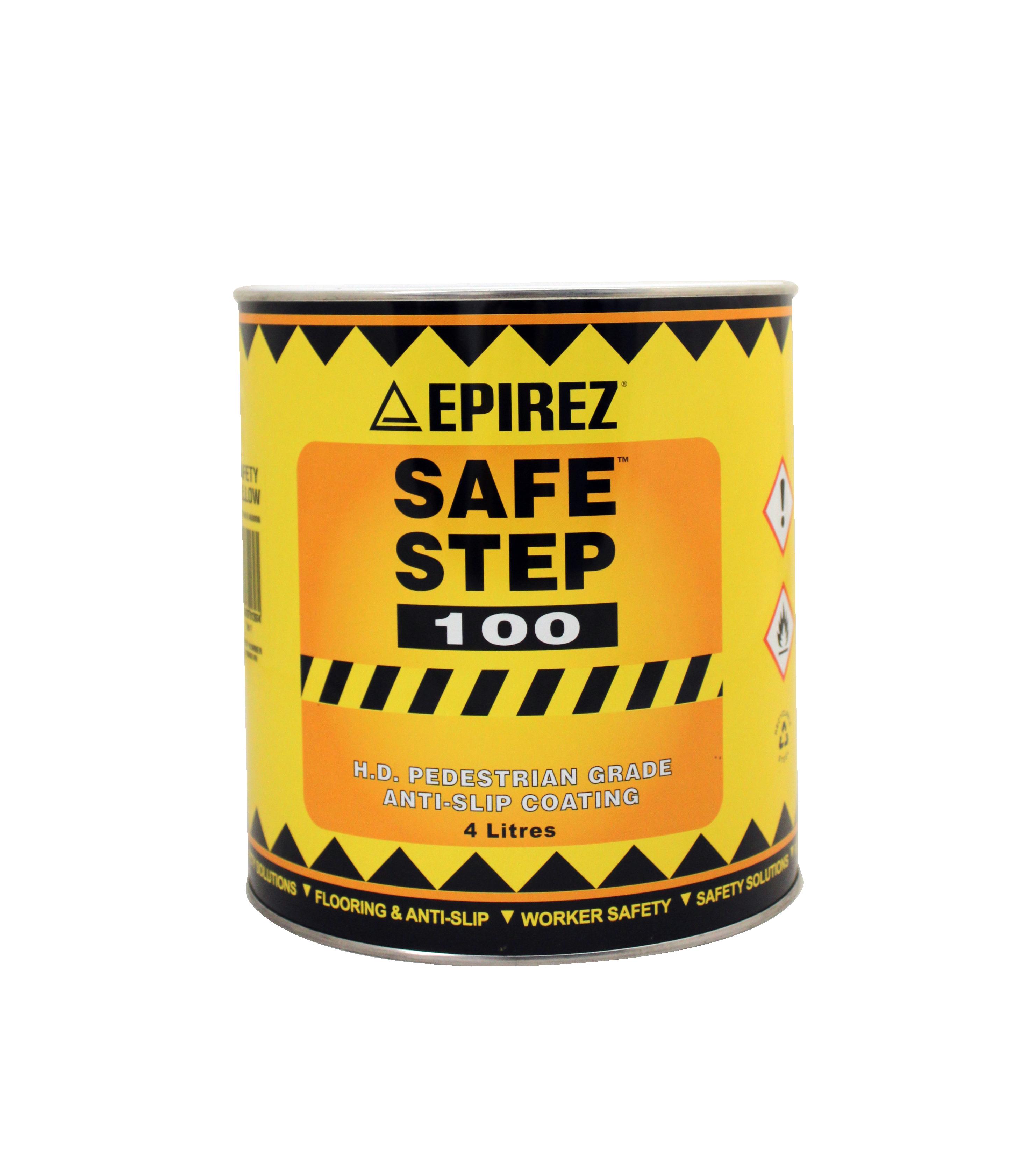 Epirez Safe Step 100 – Heavy duty pedestrian grade anti-slip safety coating