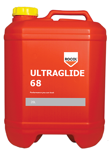 Ultraglide 68 – Provides excellent lubrication and corrosion protection from machine tool slideway systems